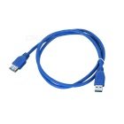 USB 3.0 un varón a un 5 Gbps Mujer Extended Cable - Blue (Longitud el 100CM-Cable)