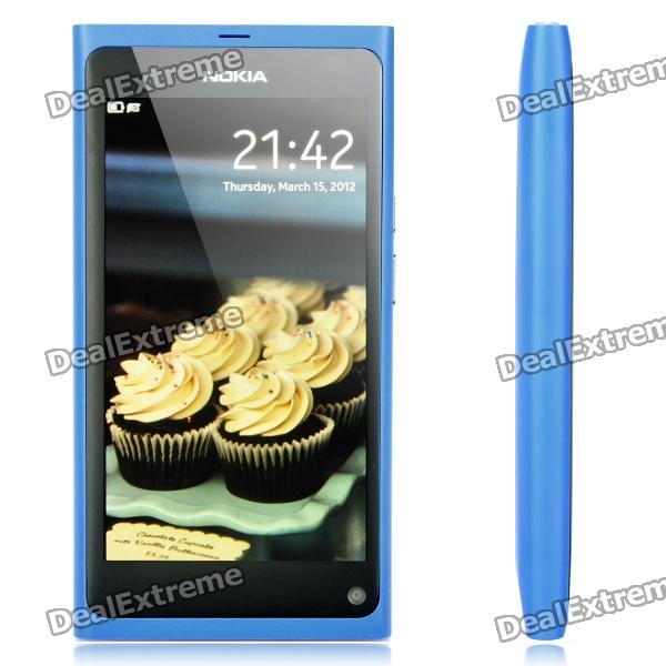 Nokia N9 MeeGo WCDMA Smartphone w/ 3.9quot Capacitive Screen, Wi-Fi and GPS - Blue (Unlocked / 16GB)