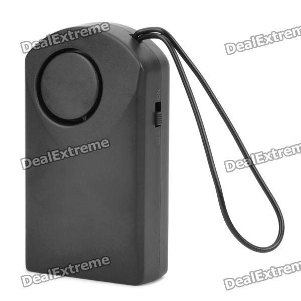 Touch Sensor Home Security Anti-Theft Alarm - Black (1 x 9V Battery)