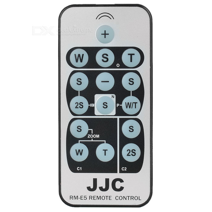 JJC Card Style Compact IR Remote for Olympus/Konica Minolta/Nikon/Pentax/Samsung/Canon (E5)