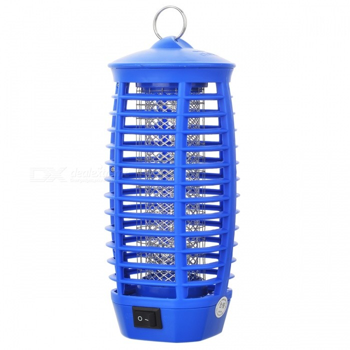 AC Powered LED Light Electronic Mosquito Insects Killer - Random Color (AC 220V/2-Flat-Pin Plug)