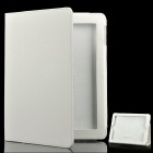 Stylish Protective Leather Case for The New Ipad - White