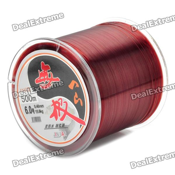 0,40 mm 500M Harz Fishing Line / Gewinde - Brown (#6)