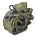Tactical Military Single Point Rifle Gun Sling Strap - Army Green (135cm)