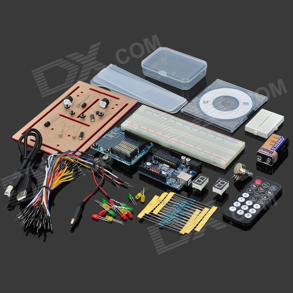 UNO-Starter-Kit-for-Arduino-(Works-with-Official-Arduino-Boards)