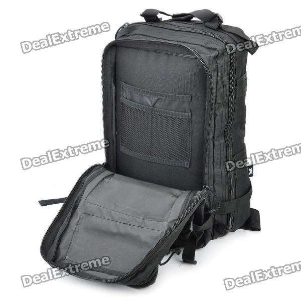 Outdoor Water Resistant Backpack Bag - Black - Free Shipping ... d1c5f1808d186