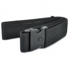 Military Tactical Outdoor Canvas Belt - Black