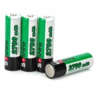 Soshine 2700mAh Ni-MH Rechargeable AA Batteries with Case (4PCS)