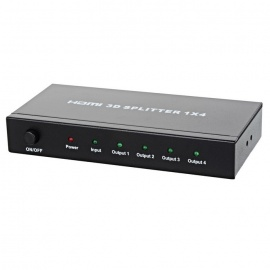 1080P-Full-HD-1-to-4-HDMI-V13-Splitter-Black