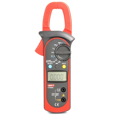 "UNI-T UT204A 1.5"" LCD Digital Clamp Multimeter (1 * 9V 6F22)"