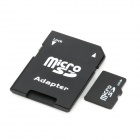 2GB Micro TF Card with SD Card Adapter - Black