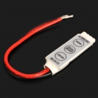 3-Key Controller for 5050 / 3528 RGB LED Light Strip (DC 12~24V)