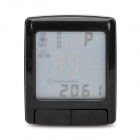 15-LCD-Cycling-Computer-w-Heart-Rate-Monitor-Speedometer-Clock-Thermometer-(1-x-CR2032)