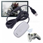PC-Wireless-Gaming-Receiver-for-XBOX-360-Controller-White-2b-Grey