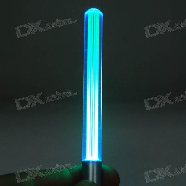 Buy Mini Lightsabre LED Keychain (4*AG3) with Litecoins with Free Shipping on Gipsybee.com