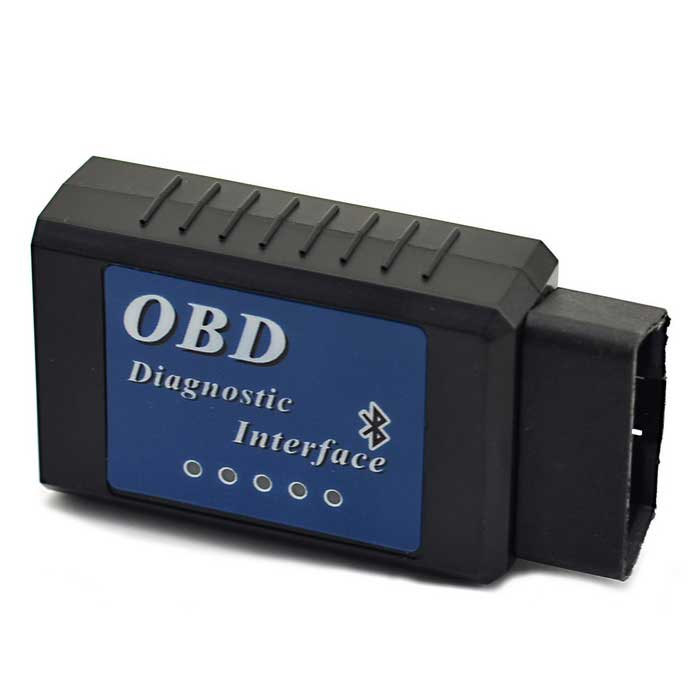 ELM327 OBD Bluetooth Diagnostic Interface - Black