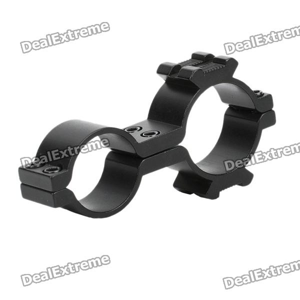 Gun Mount Holder Clip Clamp for Flashlight / Bicycle Light Lamp (25 x 30mm)