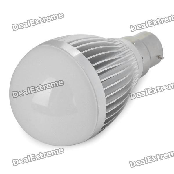 B22 9W 810LM 3500K Warm White Light 18-LED Globular Bulb (AC 85~265V)Other Connector Bulbs<br>Material:PVCForm  ColorWhitePower5WConnector TypeB22Color BINWarm WhiteEmitter TypeLEDTotal Emitters:18PowerPacking List<br>