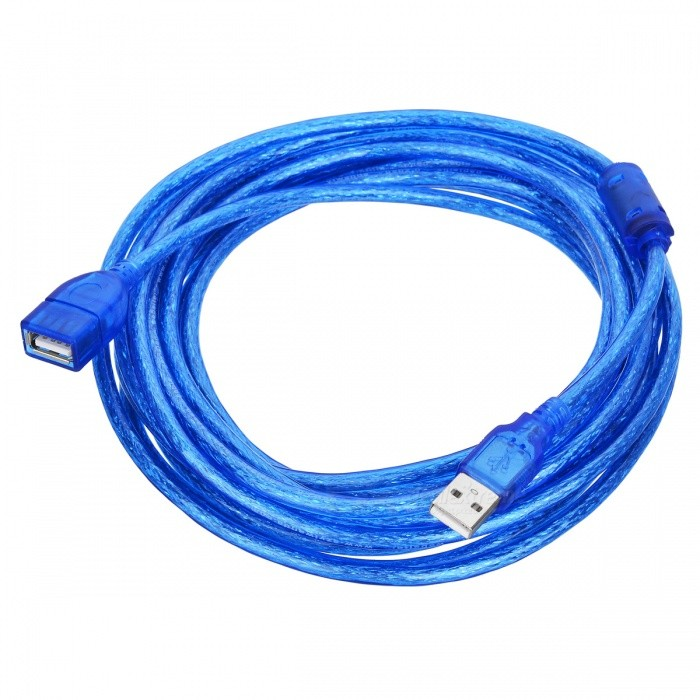 USB 2.0 Male to Female Extension Cable (5m-Length)