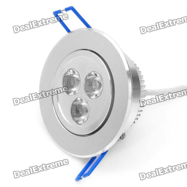 3W 2700K 270-Lumen 3-LED Warm White Light Ceiling Down Lamp (AC 220~240V)