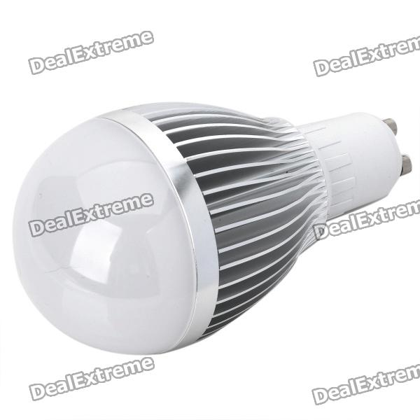 GU10 9W 810LM 3500K Warm White Light 18-LED Globular Bulb (85~265V)GU10<br>Material:PVCForm  ColorWhitePower9WConnector TypeGU10Emitter TypeLEDTotal Emitters:18PowerColor BINWarm WhitePacking List<br>
