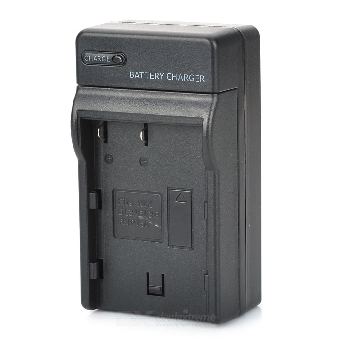 Digital Camera Battery Charger for Nikon EN-EL3 / EN-EL3e / EN-EL3A / ENP150 (US Plug)