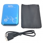 "2.5 ""USB 3.0 Mobile Disco Duro Externo Dispositivo de almacenamiento - Azul (500 GB)"