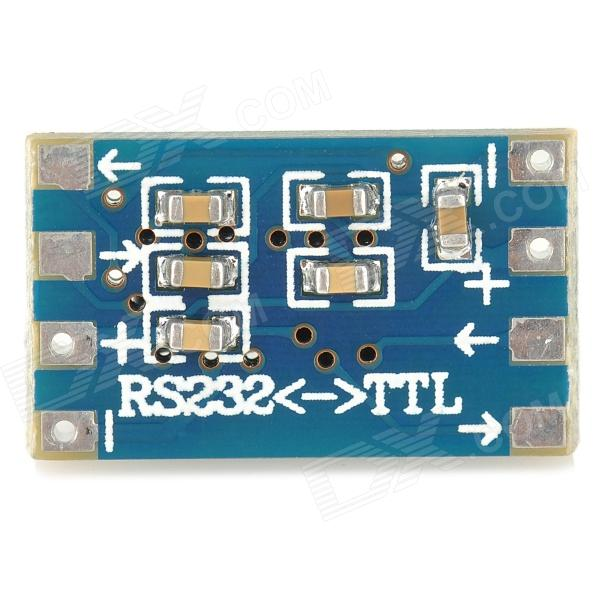 Mini RS232 to TTL Converter Module Board - Blue (3~5V)