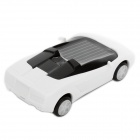 Solar Powered Lamborghini Model Toy - White + Black