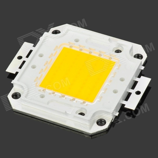 Buy 50W 4000LM 2850~3050K Warm White Light 50-LED Plate Module (DC 32V) with Litecoins with Free Shipping on Gipsybee.com