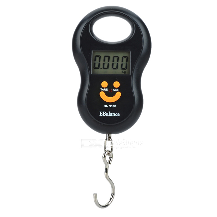 1.5quot LCD Portable Electronic Handheld Hanging Digital Scale (2 x AAA)