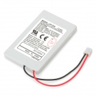 1800mAh Lithium Battery Pack for PS3 Wireless Controllers - White