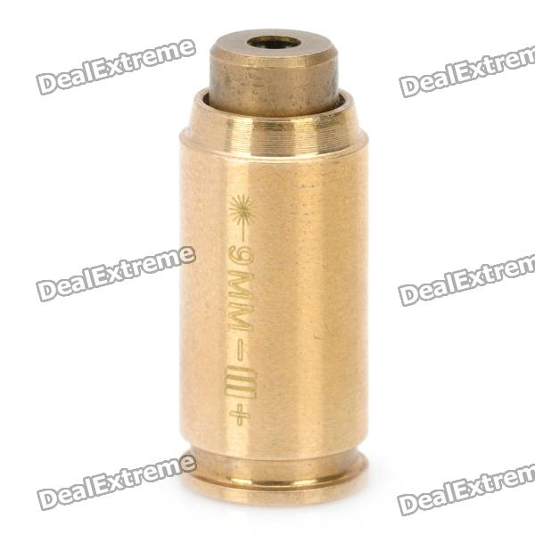 9mm Cartridge Red Laser Bore Sighter (635~655nm / 2 x LR621)