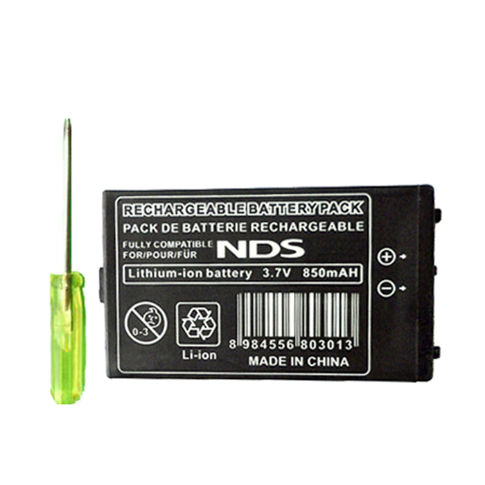 Buy Replacement 850mAh Lithium Battery Pack for NDS with Litecoins with Free Shipping on Gipsybee.com