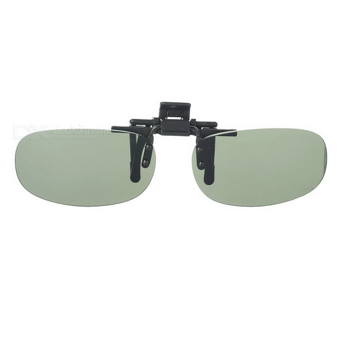 Buy Clip-on UV400 Attachment Sunglasses with Litecoins with Free Shipping on Gipsybee.com
