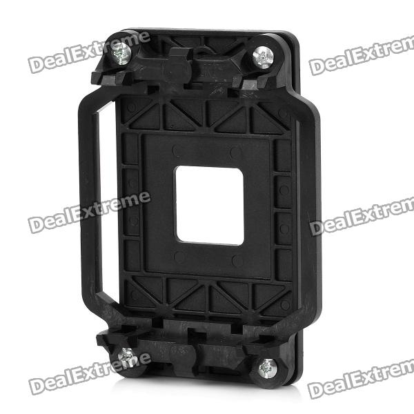 Buy AMD CPU Fan Bracket Base for AM2 940 Socket - Black with Litecoins with Free Shipping on Gipsybee.com