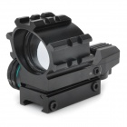 Hliníková slitina Tactical 4-Reticle Červená a Zelená Dot Sight Scope s pistolí (1 x CR2032)