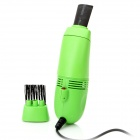 Mini USB Powered Vacuum Cleaner - Green