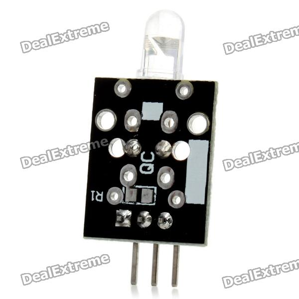 Keyes 38KHz IR Infrared Transmitter Module for ArduinoTransmitters &amp; Receivers Module<br>BrandKeyesQuantity1ColorBlackMaterialPCBFeaturesTransmitQuantity1ColorBlackMaterialPCBFeaturesTransmitForm  ColorBlackMaterialPCBFeaturesTransmitApplicationForEnglish Manual / SpecYesPacking List<br>