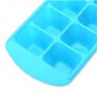 12 Silicone Ice Cube Tray Ice Mold - Blue