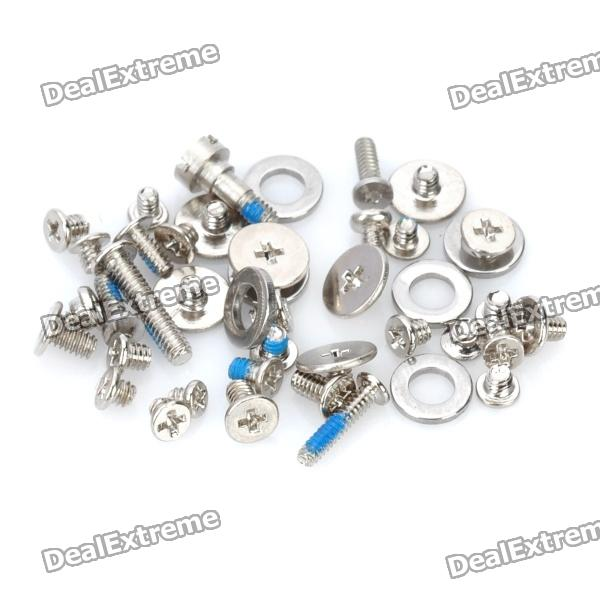 Buy Full Replacement Screw Set with O-ring for   Iphone 4 with Litecoins with Free Shipping on Gipsybee.com