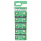 AG11 / LR721W 1.55V Alkaline Cell Button Batteries (10-Piece Pack)