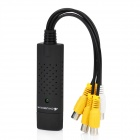 Easy CAP001 4-Channel USB 2.0 Video Capture Adapter - Black