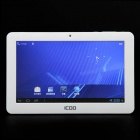 "ICOO D50 7.0"" Capacitive Screen Android 4.0 Tablet w/G-Sensor / Camera / Wi-Fi / External 3G - White"