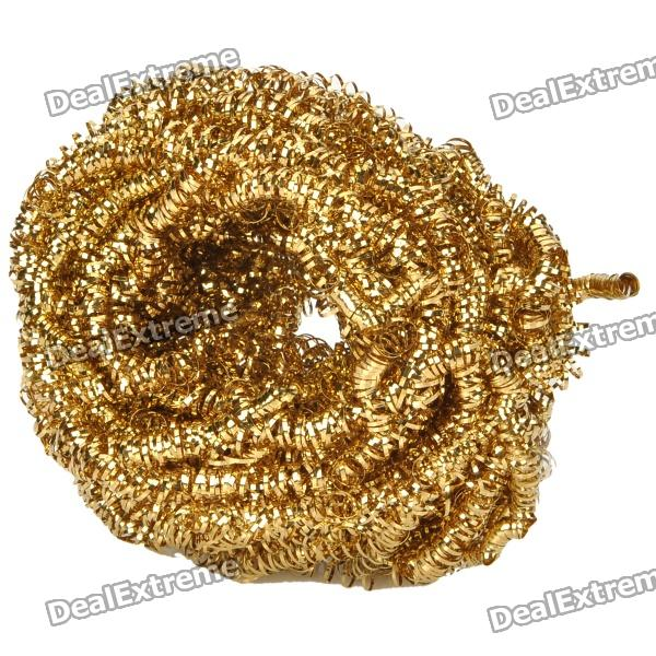 Buy Soldering Iron Tip Cleaner Ball - Golden with Litecoins with Free Shipping on Gipsybee.com