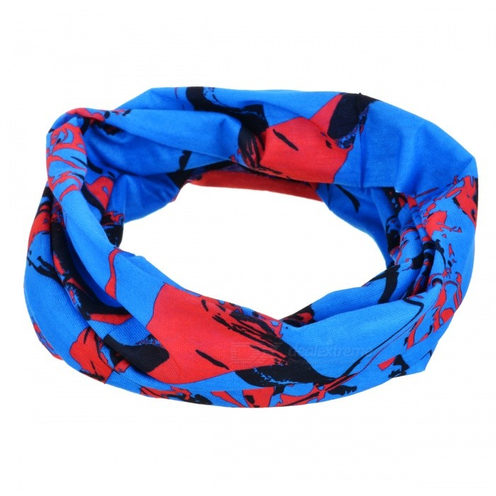 Buy Multifunction Outdoor Sports Bicycle Cycling Seamless Head Scarf - Orange + Black with Litecoins with Free Shipping on Gipsybee.com