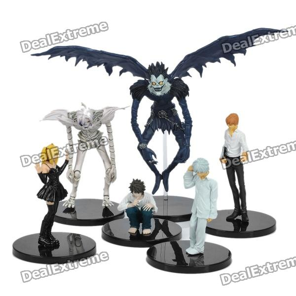 Death Note Yagami Light Ryuk Near Kira Misa L Figures Set (6-Piece) for sale in Bitcoin, Litecoin, Ethereum, Bitcoin Cash with the best price and Free Shipping on Gipsybee.com