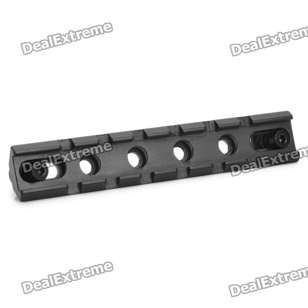20mm Aluminum Alloy Tactical Gun Rail Mount - BlackGun Mounts/Rails<br>ModelNForm  ColorBlackMaterialAluminumQuantity1Packing List<br>