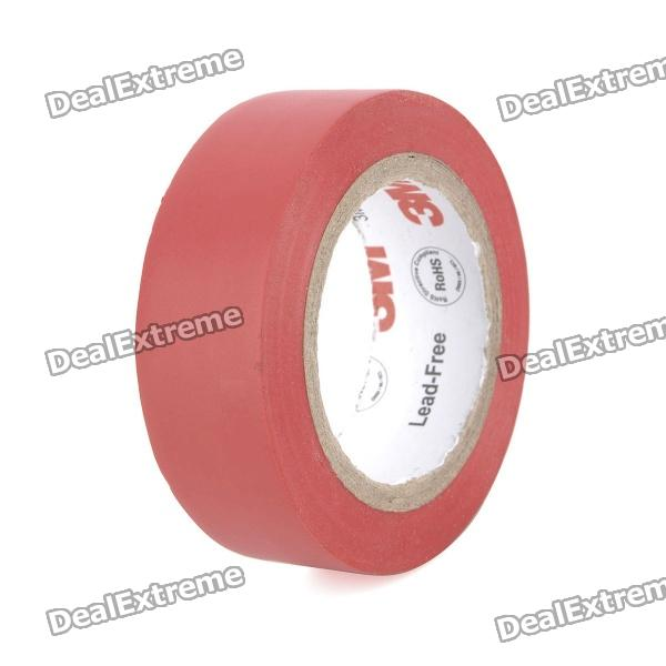 Electrical PVC Insulation Adhesive Tape - Red (1.8CM x 10M)