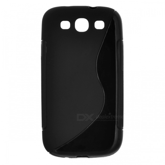 Buy Protective PVC Case for Samsung Galaxy S3 / i9300 - Black with Litecoins with Free Shipping on Gipsybee.com